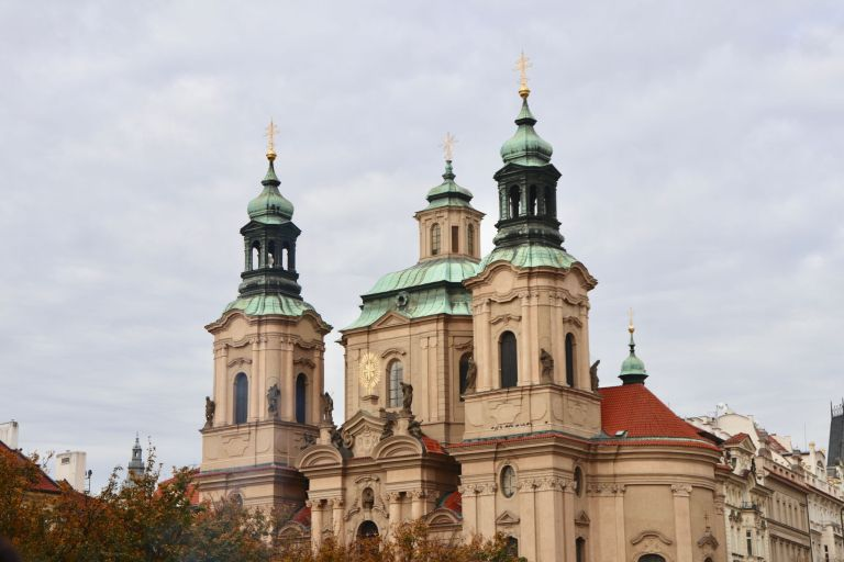 St. Nicholas Church in Old Town Square