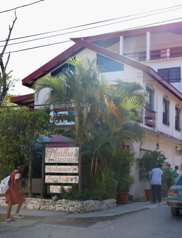 Martha's Guesthouse: the first stop on our Belize itinerary!