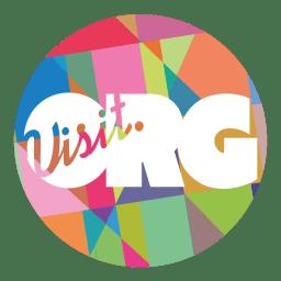 Visit.org Logo Multicolor