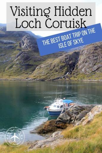 One of the best boat trips in Scotland takes you to Loch Coruisk on the Isle of Skye, where you'll find a gorgeous hidden lake surrounded by mountains.