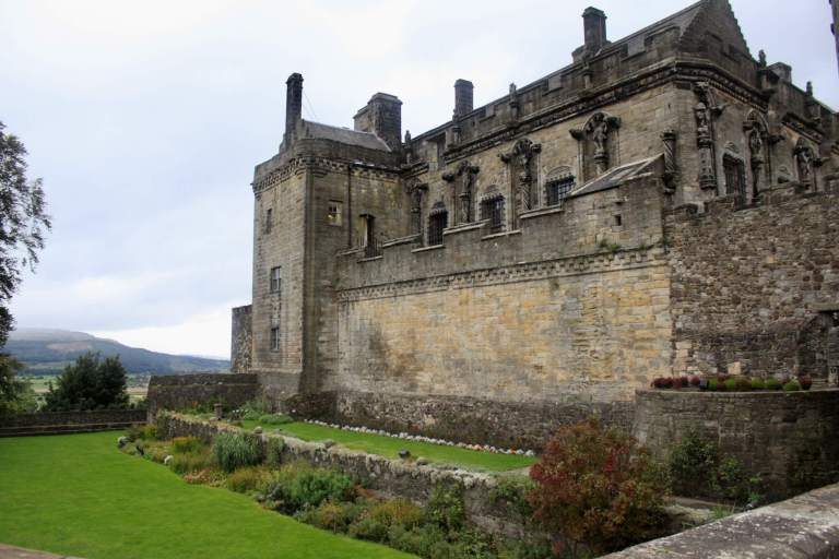 Stirling Castle was one of our favorite stops on our week in Scotland itinerary.