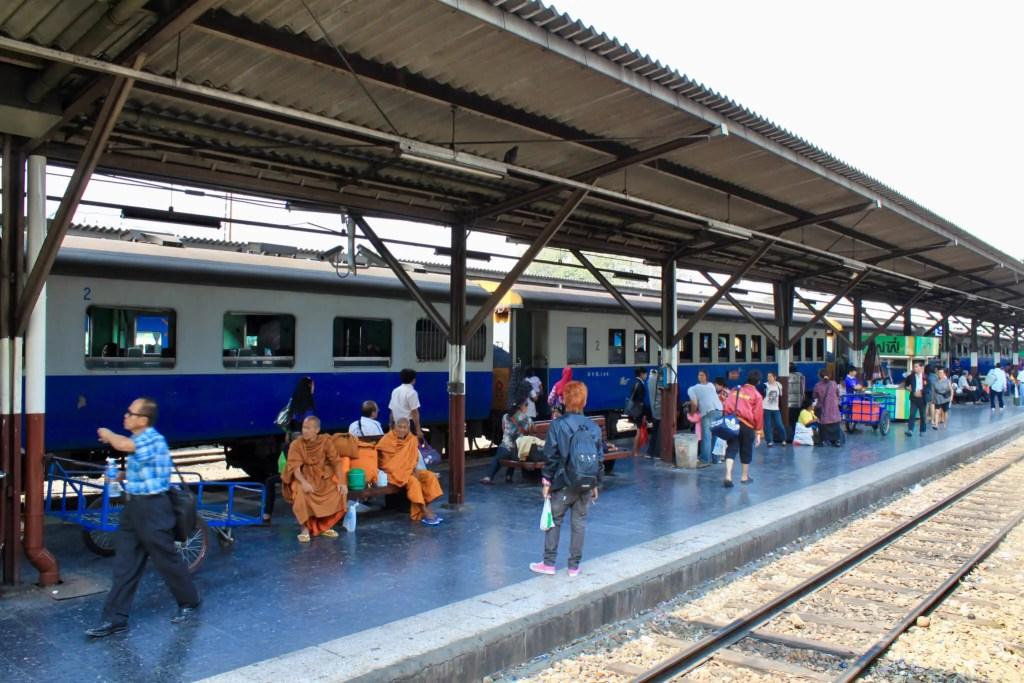 Train station in Bangkok, Thailand