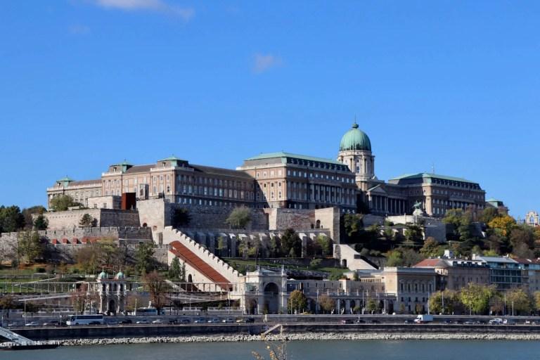 Buda Castle from across the Danube