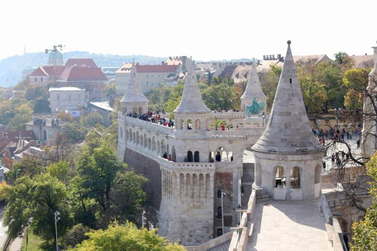 Fisherman's Bastion towers and overlook