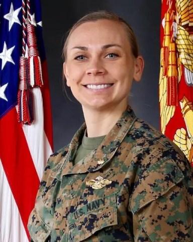 Ellen's official military nurse portrait