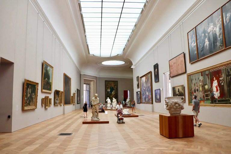 Gallery in the Petit Palais, Paris
