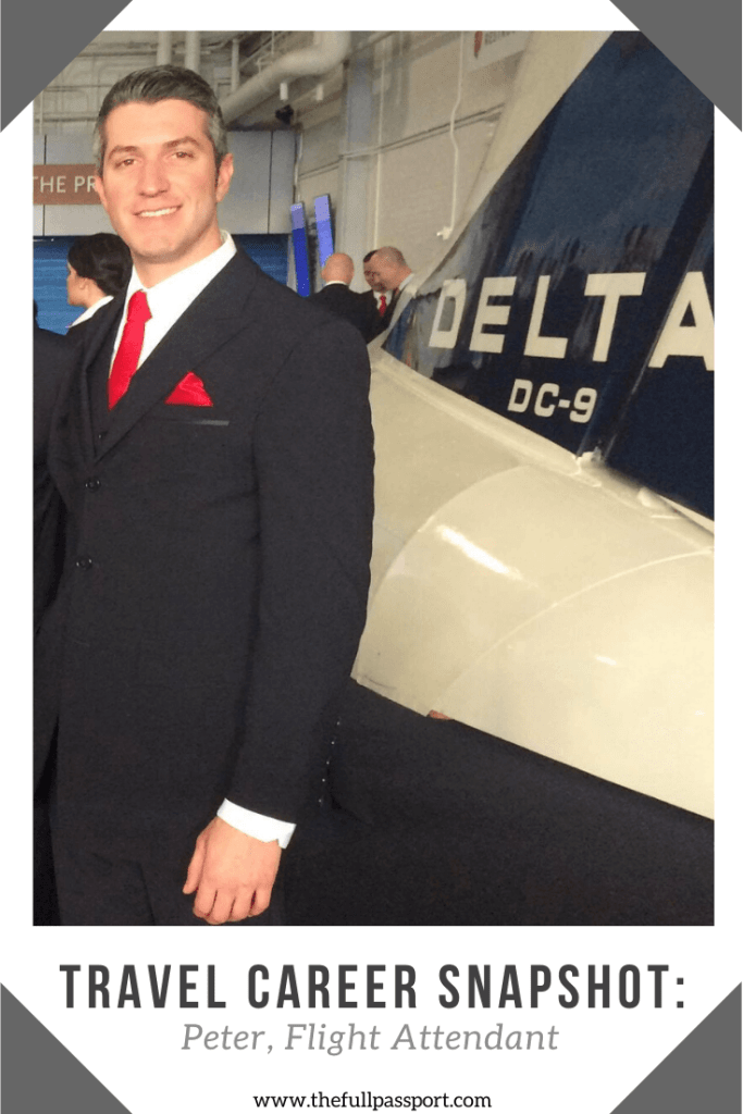 For many, being a flight attendant is a dream job full of adventure and romance. Read Peter's account of the ups and downs of life at 30,000 feet.