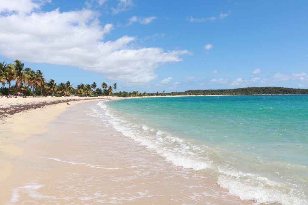 Sun Bay, a gorgeous public beach on Vieques