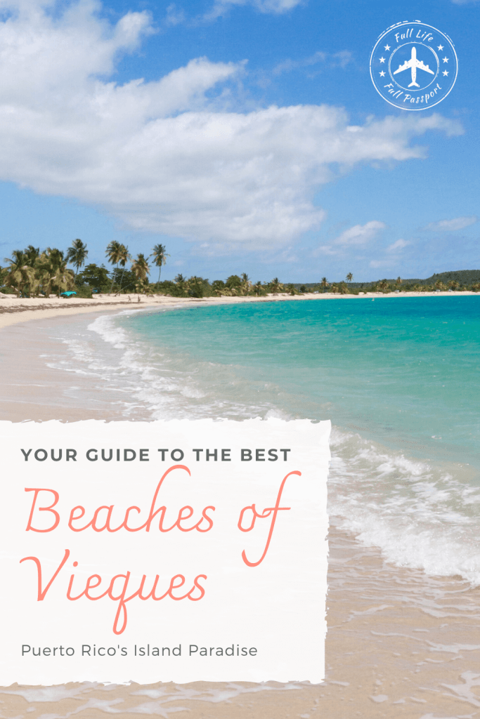 Vieques, Puerto Rico, boasts some of the most beautiful beaches in the Caribbean. Check out this guide to the best beaches on Vieques!