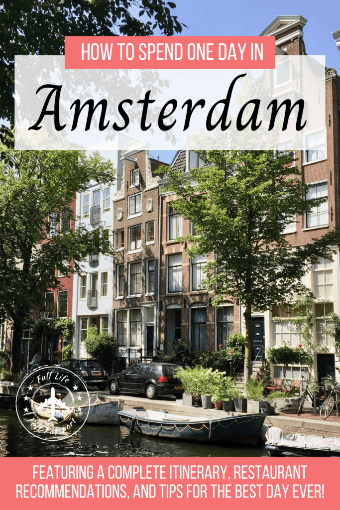 It's easy to have a great experience with only one day in Amsterdam! Check out this travel guide for great restaurants and things to do.