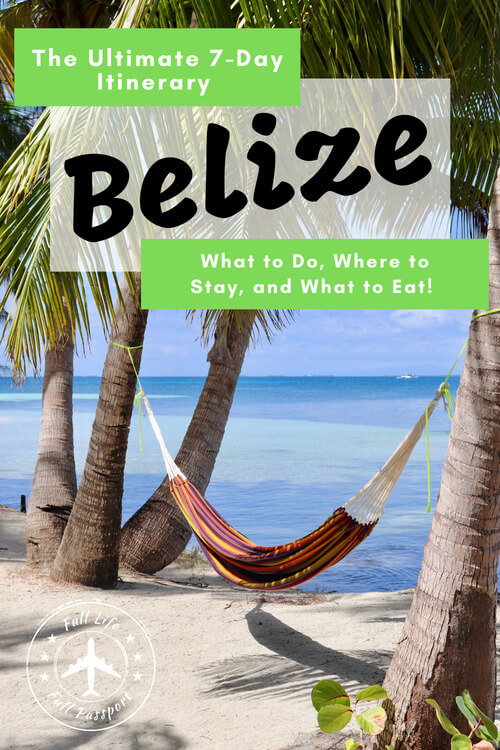 Your perfect itinerary for one week in Belize, with hotel recommendations, things to do, tours, and other great tips for an awesome family or solo vacation.