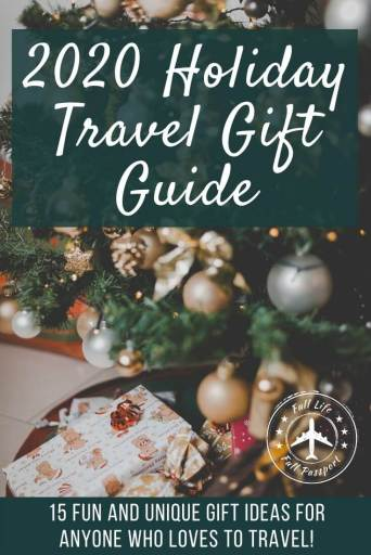 Looking for gift ideas for people who love to travel? Check out fifteen of this year's best and most unique gifts for travelers!