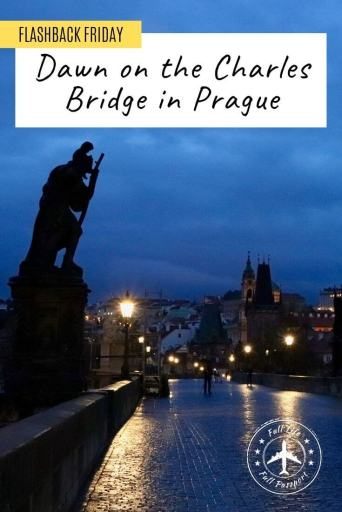 The Charles Bridge is a must-do in Prague, but it's frequently swarming with tourists. See why you should visit the Charles Bridge at dawn!