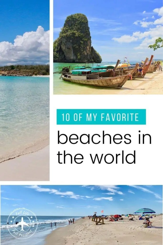 Kick off summer with this list of my favorite beaches, featuring ten of the most beautiful, unique, and interesting beaches in the world!