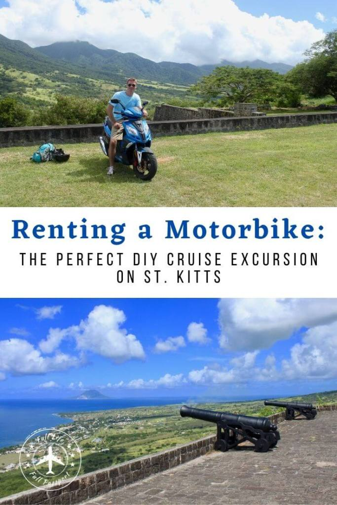 One of the best St. Kitts excursions is renting a motorbike or scooter to explore this beautiful island. DIY your own adventure!