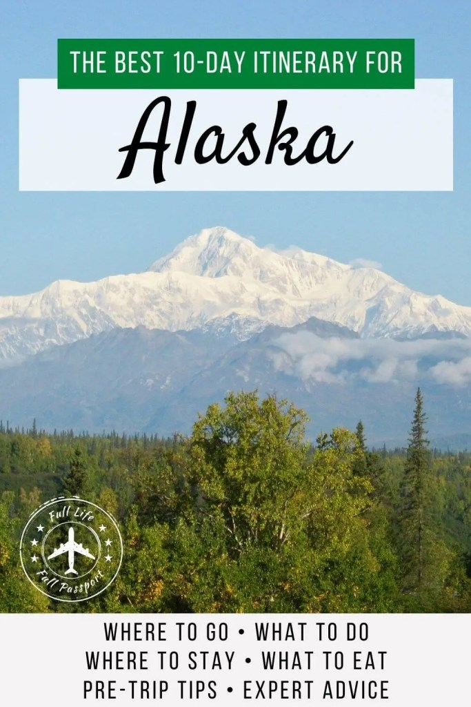 Looking to visit Alaska without taking a cruise? You've come to the right place! This ten-day Alaska itinerary has everything you need.