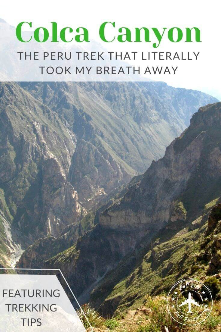 Colca Canyon, Peru: The Hike that Literally Took My Breath Away