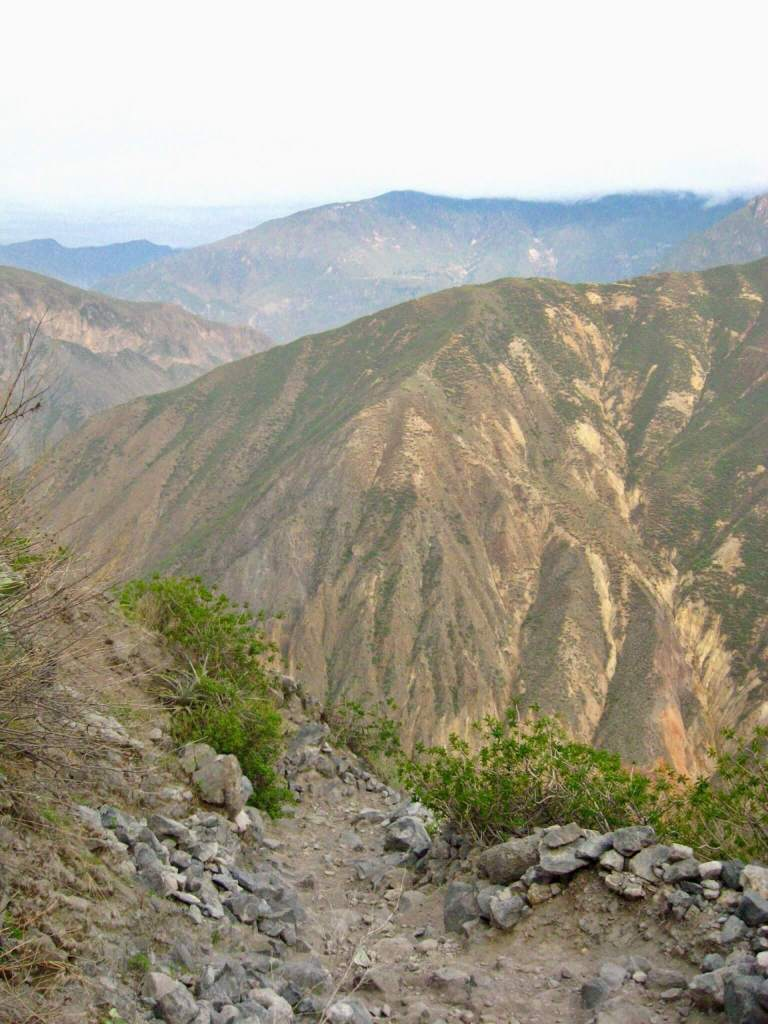 Another view of Colca Canyon from high in the ascent