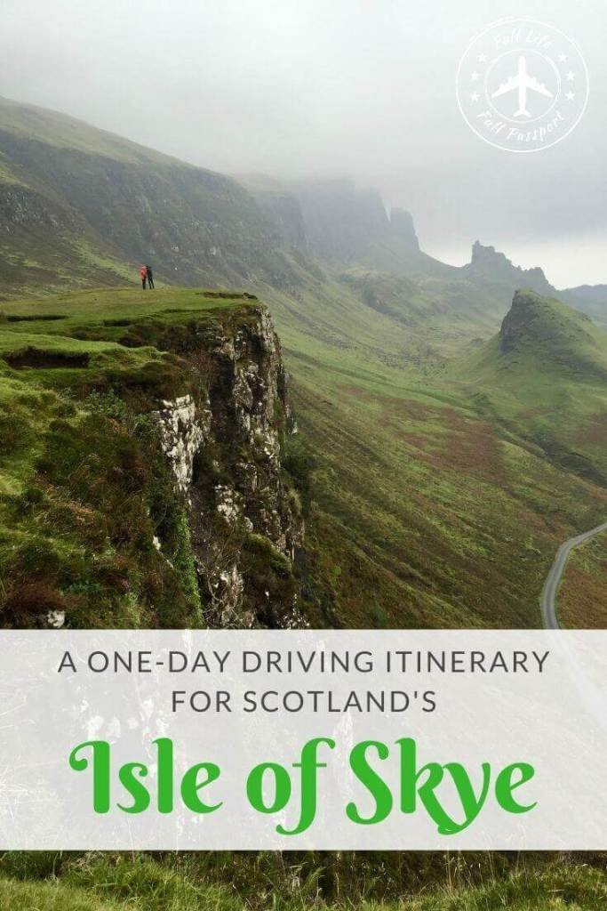 There are so many amazing sights on Scotland's Isle of Skye! Check out the highlights with this one-day Isle of Skye driving itinerary.
