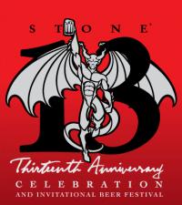 Stone 13th Anniversary Celebration and Invitational Beer Festival