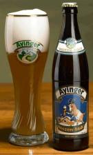 Ayinger - Weizenbock bottle & glass