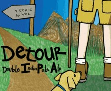 Uinta Crooked Line Detour Double IPA