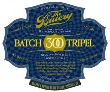 The Bruery Batch 300 Tripel