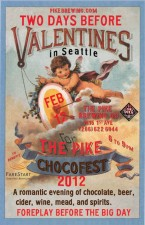 Pike Brewing 4th Annual Chocofest (poster)