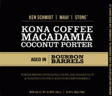 Barrel Aged Kona Stone Ken Schmidt