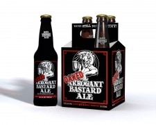 Stone Brewing Co. - Oaked Arrogant Bastard (4 pack)