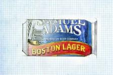 Samuel Adams Can Illustration