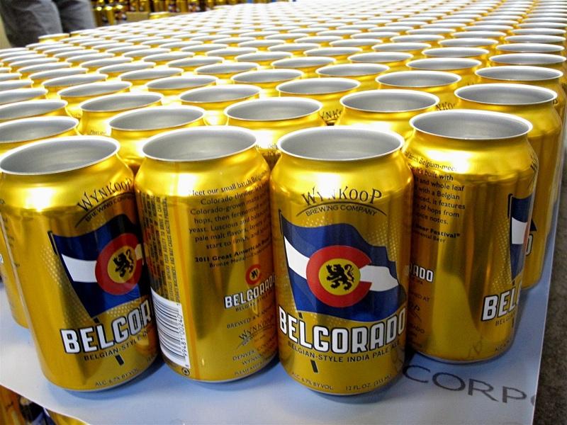 Wynkoop Brewing - Belgorado (empty cans)