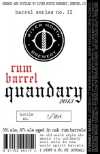 River North Rum Barrel Quandary