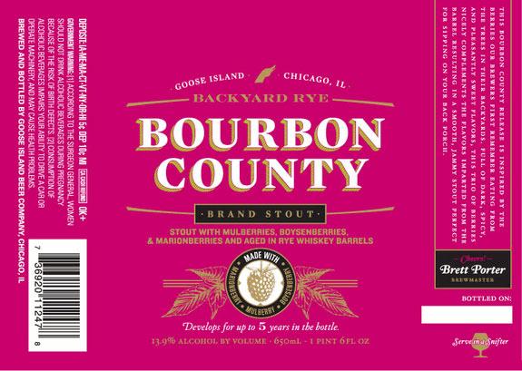 Goose Island Bourbon County Backyard Rye
