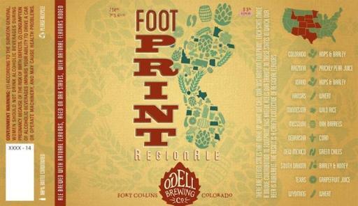 Odell Footprint RegionAle 2014