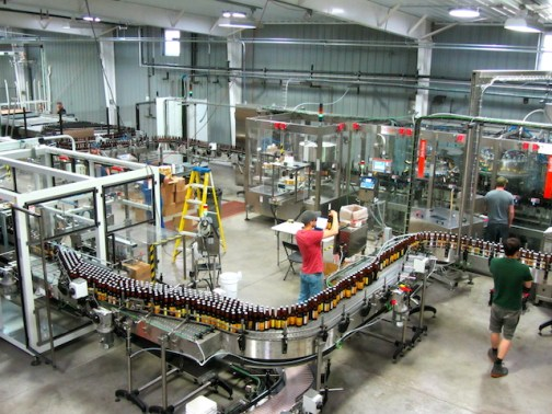 Shorts Brewing Bottling Line 2014
