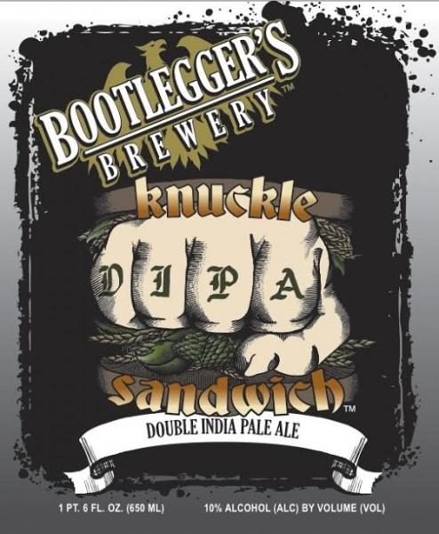 Bootlegger's Brewing - Knuckle Sandwich DIPA