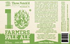 Three Notch'd Brewing - 10* Farmers Pale Ale
