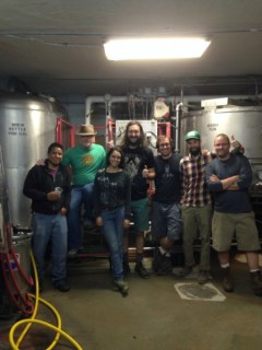 Jester King Brew day at Live Oak