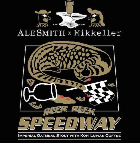 AleSmith Mikkeller Beer Geek Speedway Stout