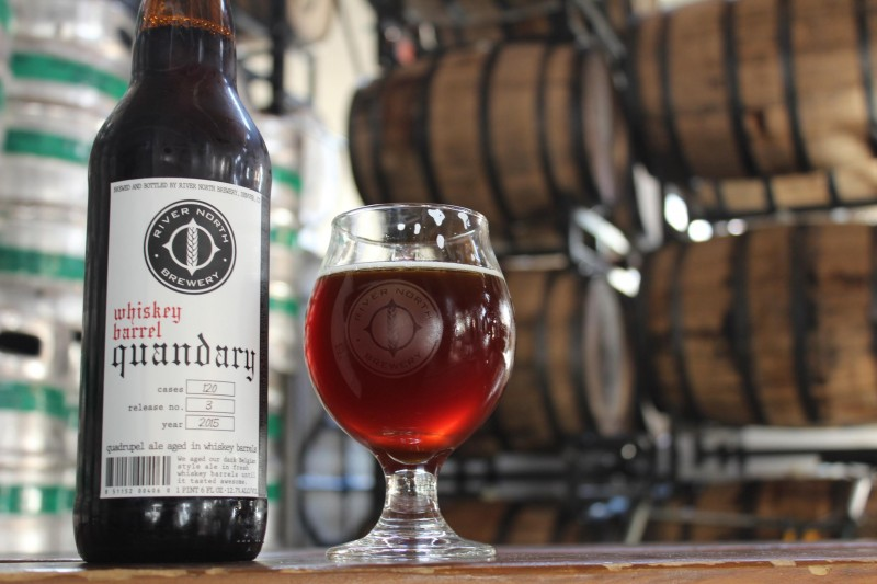 River North Brewing - Whiskey Barrel Aged Quandary