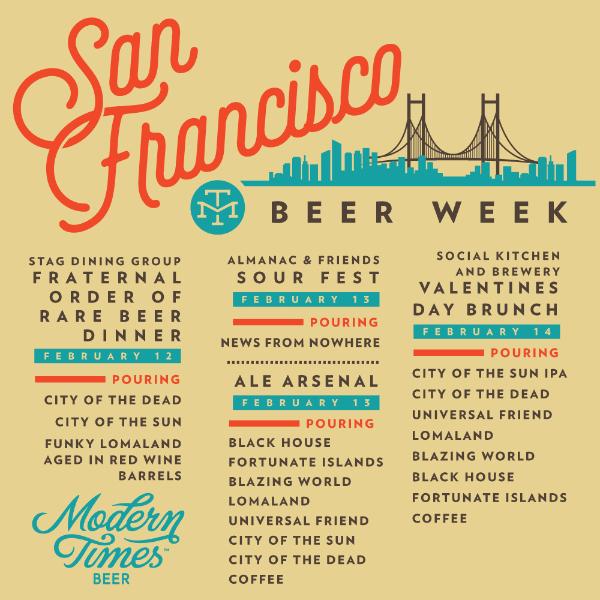 Modern Times Beer - San Francisco Beer Week 2015