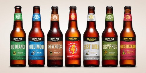 Real Ale Brewing Bottles 2015