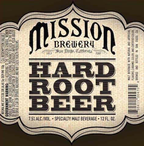 Mission Hard Root Beer