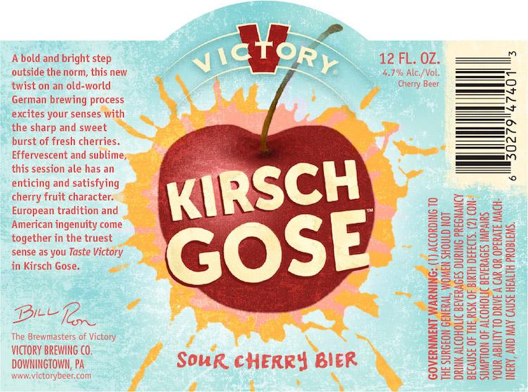 Victory Brewing Kirsch Gose