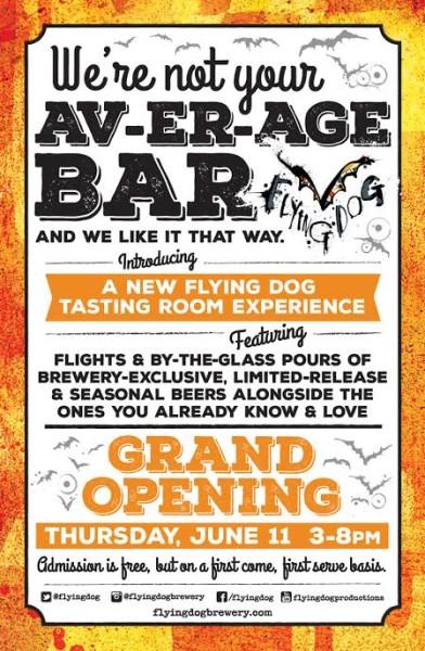Flying Dog Tasting Room Grand Opening