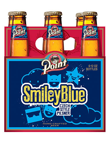 Point Smiley Blue Pils
