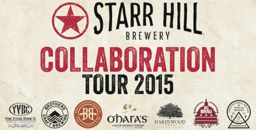Starr Hill Collaboration 2015