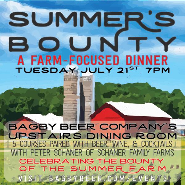 Bagby Beer - Summer's Bounty