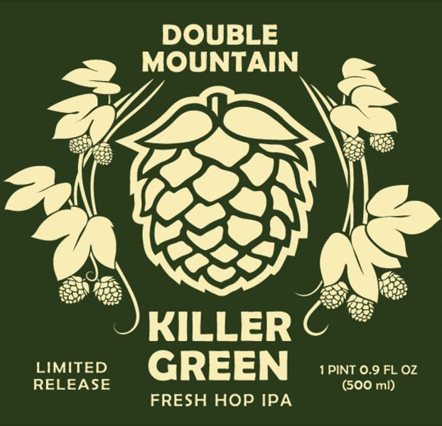 Double Mountain Killer Green Fresh Hop IPA